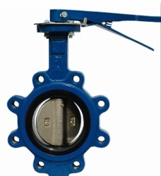 F7480 Marine Lever lugged type butterfly valve