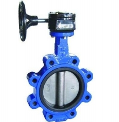 F7480 Marine worm gear lugged type butterfly valve