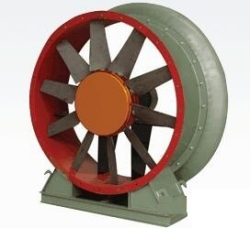 50A11 Model Textile axial flow fan